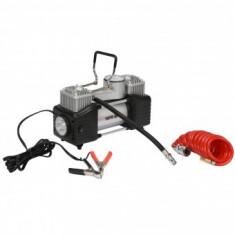 Compresor auto Yato YT-73462, 10 bar, 60l/min, 12V, lanterna