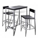 Set mobilier tip bar pentru mic dejun, vidaXL