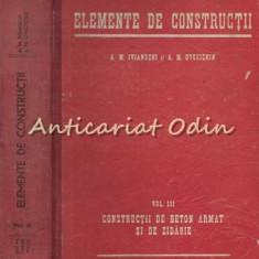 Elemente De Constructii III - A.M. Ivianschi, A.M. Ovecichin
