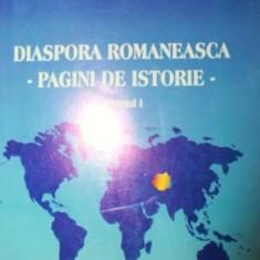 DIASPORA ROMANEASCA PAGINI DE ISTORIE - GHE ZBUCHEA, CEZAR DOBRE