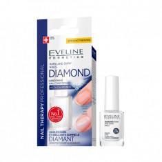 Tratament pentru intarirea unghiilor, Eveline Cosmetics, DIAMOND HARD AND SHINY NAILS, 12 ml
