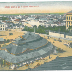 1956 - CRAIOVA, Romania, Market - old postcard - unused - 1915
