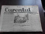 Ziarul Curentul , director Pamfil Seicaru , 22 iunie nr.1934/1933