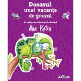 Cumpara ieftin Carte Editura Arthur, Dosarul unei vacante de groaza, Ana Rotea, ART