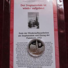 Austria Catedrala Sfântul Ștefan din Viena - Argint 999 cu certificat