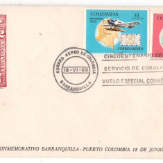 Columbia 1969 - Posta Aeriana, FDC