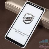 Geam Protectie Display Samsung Galaxy A8 Plus 2018 Acoperire Completa 2,5D Negru
