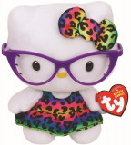 Jucarie de plus TY 15 cm - Beanie Babies Hello Kitty Fashionista