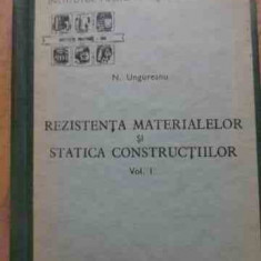 Rezistenta Materialelor Si Statica Constructiilor Vol1 - N. Ungureanu ,527740