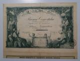 Actiune Banca comertului Craiova , 1928 , titlu , actiuni , actie