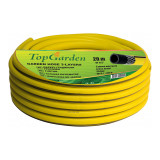 Cumpara ieftin Furtun de gradina Top Garden, 3 straturi, 1/2 inch, 30 m, 25 bar, poliester, Galben