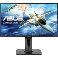 Monitor gaming LED TN VG258Q, 24.5, Full HD, FreeSync, 1ms, 144Hz, Display Port, Negru, Asus