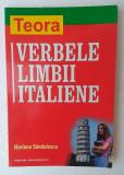 Manual limba italiana - Teora Verbele limbii italiene, autor Mariana Sandulescu