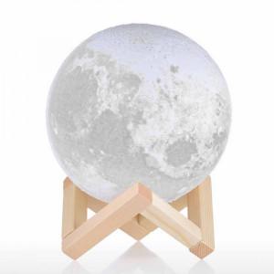 Lampa Luna 3D Moon by Borealy Desk
