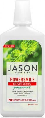 Apa de gura Power Smile pt albire si respiratie proaspata, Jason foto