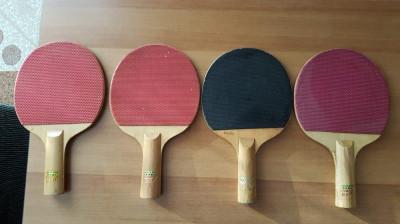 Colectie palete tenis de masa, 8 bucati foto