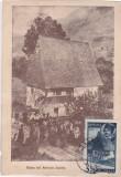 CASA LUI AVRAM IANCU,CARTE MAXIMA OBLITERATA 1945 CLUJ.