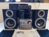 Combina/Linie Audio PANASONIC SA PM500 (CD/Tuner/Amplificator/Boxe) - ca Noua, Mini-sistem