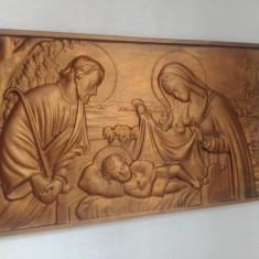 Icoana sculptata