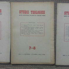 Studii teologice, revista institutelor teologice// 1954, nr 5-10