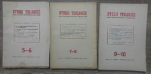 Studii teologice, revista institutelor teologice// 1954, nr 5-10