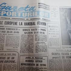 gazeta sporturilor 22 ianuarie 1990-cupele europene la handbal feminin