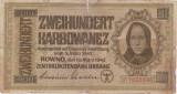 Ucraina 200 karbowanez 1942 UZATA