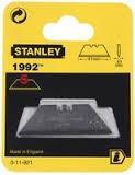 Set 5 lame trapezoidale fara orificiu 1992 STANLEY