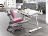 Cumpara ieftin Set birou ergonomic pentru copii, reglabil pe inaltime Comfortline Alb / Roz, L119xl73xH56-80 cm