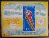 Timbre 1984 Jocurile Olimpice de Iarnă MNH