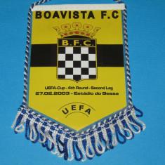 Fanion meci fotbal BOAVISTA PORTO - HERTHA BSC BERLIN (UEFA CUPA 2003)