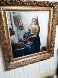 Tablou scoala Flamanda, Natura statica, Ulei, Impresionism