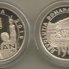 ROMANIA  50  BANI  2019 - PROOF  - 30 ANI  de  la  REVOLUTIA ROMANA