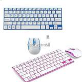 Kit Wireless Tastatura Ultra Slim si Mouse HK3910, Fara fir