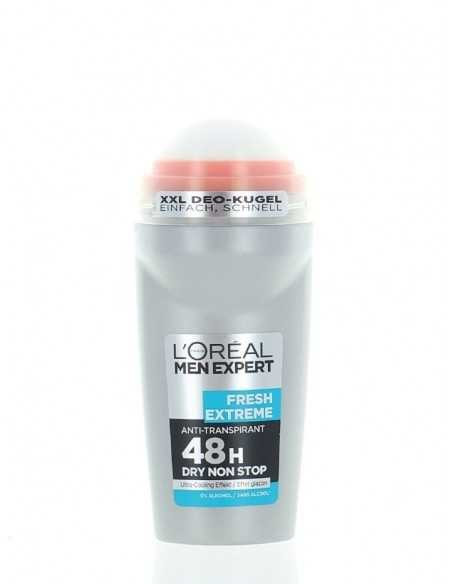 Deodorant roll-on antiperspirant L'oreal Men Expert Fresh Extreme, 50 ml