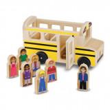 Set de joaca Autobuz cu pasageri - Melissa & Doug