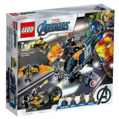 LEGO Marvel Super Heroes - Razbunatorii - Distrugerea camionului 76143