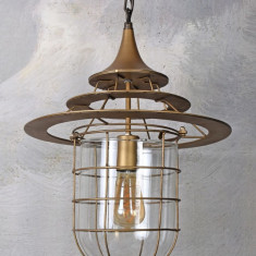 Lampa industriala de tavan cu un bec Edison  GMF013