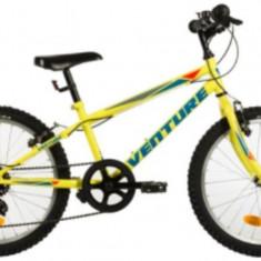 Bicicleta Copii Venture 2017 Galben 20 Inch