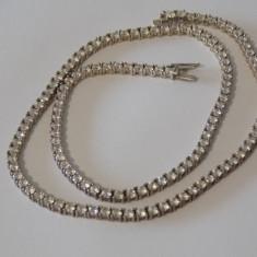 Colier argint cu zirconii -2256