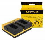 PATONA | Incarcator Dual USB cu placute Panasonic DMW-BLJ31 Lumix DC-S1 DC-S1R