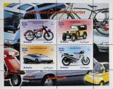 SOMALIA-Masini,Motociclete -1 coala mica-1999**SOM 020, Transporturi, Africa
