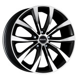 Jante SEAT IBIZA 6.5J x 16 Inch 5X100 et42 - Mak Wolf Black Mirror - pret / buc, 6,5