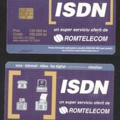 Romania 2002 Telephone card ISDN 150.000 Rom 158 CT.039