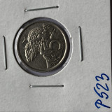 P523 NOUA ZEELANDA 5 CENTI 1975