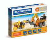 Set constructii pentru copii - Clicformers-Santier, 74 piese