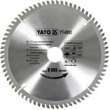 Disc circular pentru aluminiu 210 x 3 x 30 mm Yato YT-6093