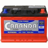 Baterie Caranda Suprema 75Ah 750Ah