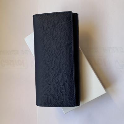 Portofel de dama,din piele naturala,pentru bani,carduri,marunt,nou in cutie foto