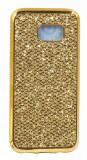 Husa Lux Fashion Glitter Samsung S7 Edge Gold